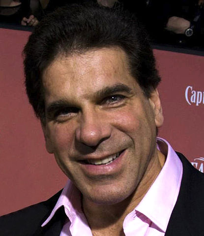 Lou Ferrigno American body bulder and actor, and also was The Incredible Hulk.