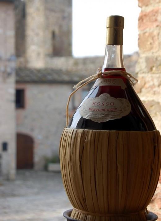 Chianti everyone's favourite wine in a bottle.