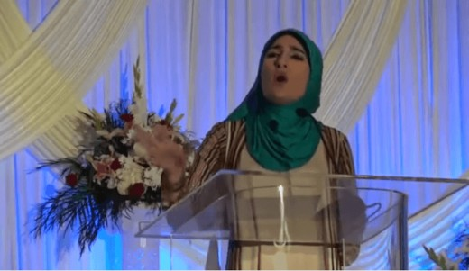 Linda Sarsour,big mouth Islamist and advocate  for sharia law in America