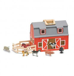 A Learning Favorite In My Classroom-Melissa & Doug Fold and Go Mini Barn