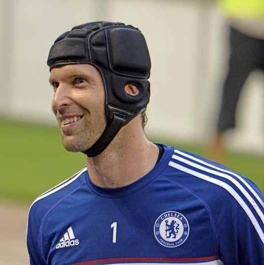 Petr Čech- pictured here during his stay at Chelsea