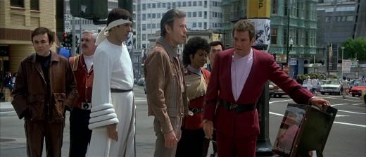 Starfleet's espionage training is put to work.