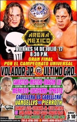 The Universal CMLL Running Diary