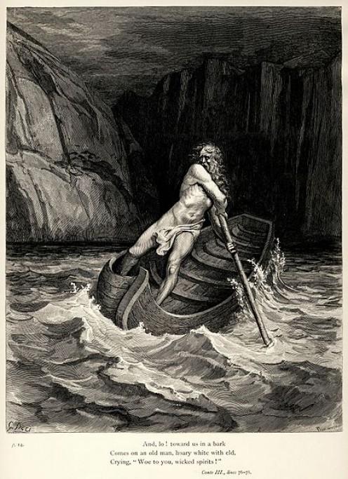 Gustave Doré's illustration to Dante's Inferno.