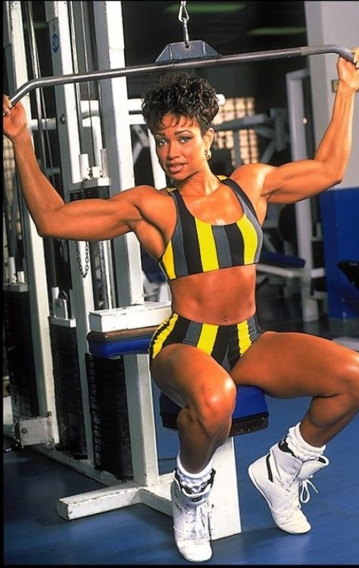 Lisa Lowe, Former IFBB Fitness Pro and Fitness Model