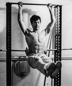Bruce Lee And His Workouts