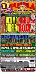 CMLL Puebla: Red Frog Has Fallen