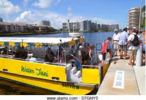 River taxis are, along with cars, the most common mode of transportation for citizens and visitors.