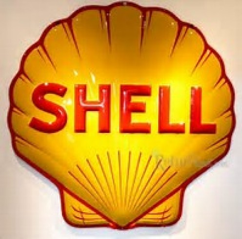 Shell gets its product in several places including Brunei.