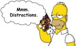 The Spiritual Power of Distraction!