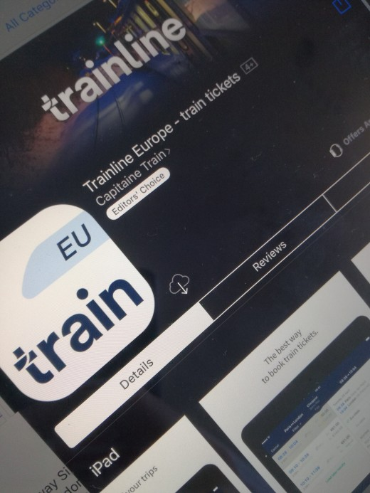 Trainline is one of the most popular train booking apps in Europe
