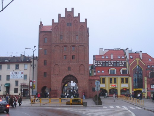 Olsztyn Gate in Poland