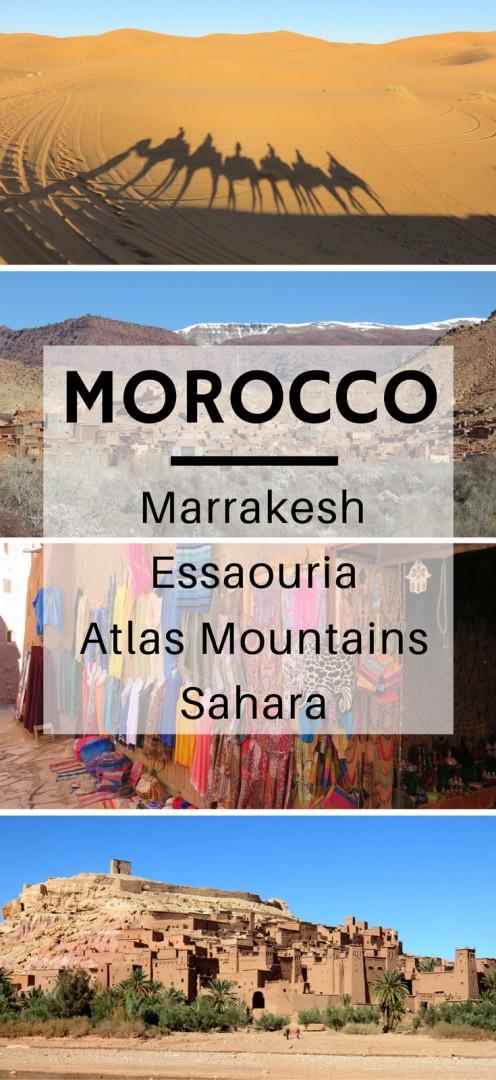 Exploring Morocco: Marrakesh, Essaouira, Atlas Mountains, and the Sahara