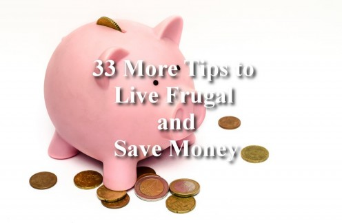 33 Ways to Save Money on Just About Everything