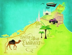 ROAD TRIPS IN UAE – NOT TO MISS