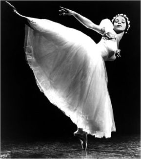 The first African American to dance for an mayor ballet company.