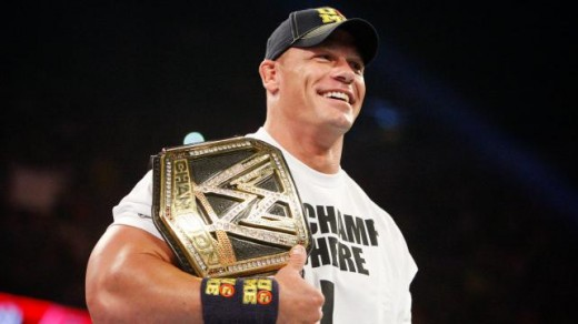 John Cena as WWE Champion