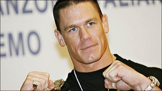 John Cena posing