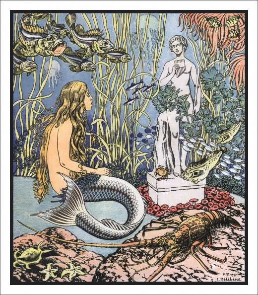 The Little Mermaid fairy tale is a nod to ancient beliefs in water guardian spirits and relates to the goddess Atargatis.