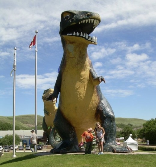 Home of the largest dino