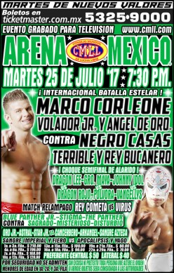 CMLL Tuesday: The Lame Show