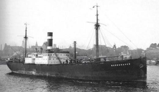 The SS Bodegraven carried the very last group of Kindertransport children away from danger. It left IJmuiden harbor on May 14, 1940, just before German armies reached the port.