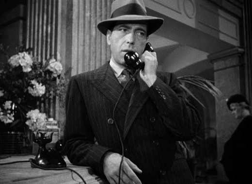 Bogart exudes confidence, charisma and danger as Sam Space - the exact hero the film requires