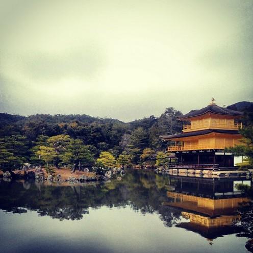 Kinkaku-ji (Golden Pavilion) Kyoto, Japan.