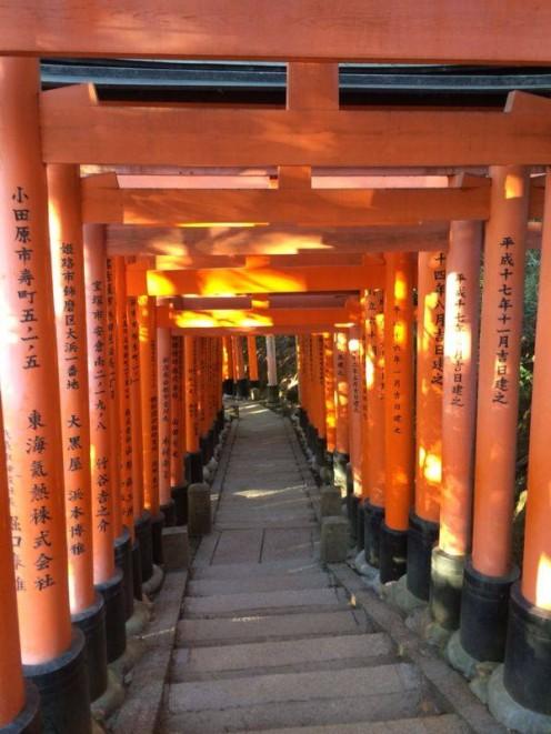 Fushimi Inari Shrine, Kyoto, Japan.