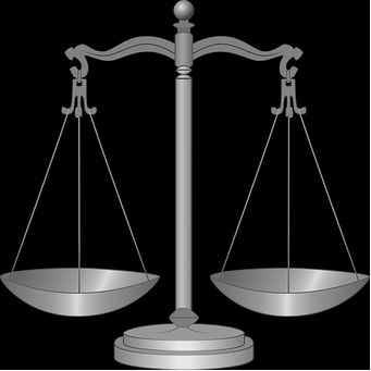 Scales of Justice represent the Libra sign