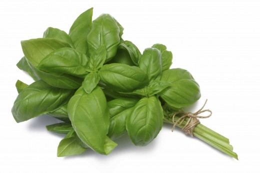 In thai cuisine, it is traditional to include basil in soup