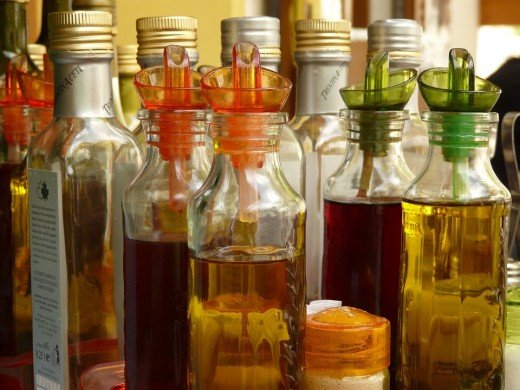 Try adding different kinds of herbs to create your own flavor of basil vinegar