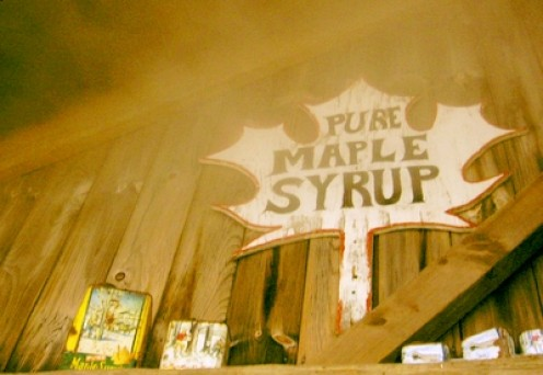 A place called the Sugar Shack. The Sugar Maple is prolific in this part of the USA.