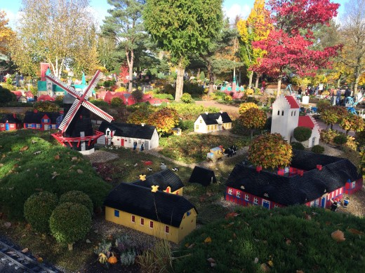 The (original) Legoland in Billund, Denmark. The weather during my time there was quite lovely.