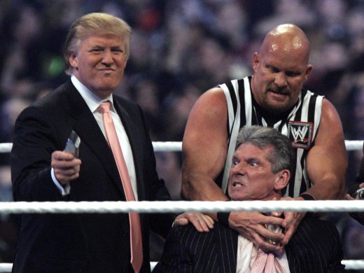 Donald Trump at Wrestlemania 23