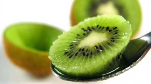 Kiwi fruit is a berry the size of a hen egg.