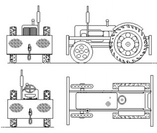 As indicated earlier, one solution to replacing horses as motive power for shunting outlying stations was in the introduction of tractors