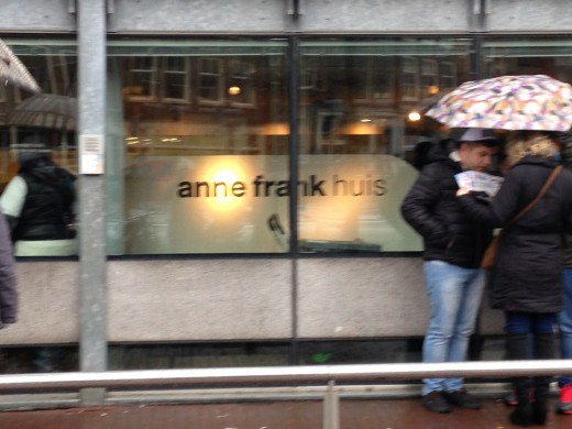 The Anne Frank House; Amsterdam, Holland
