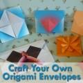 Easy Origami Envelope Crafts
