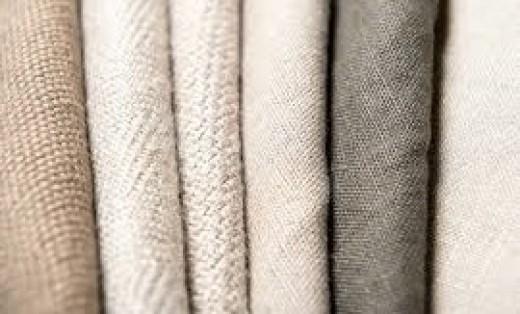 Flax fiber cloths