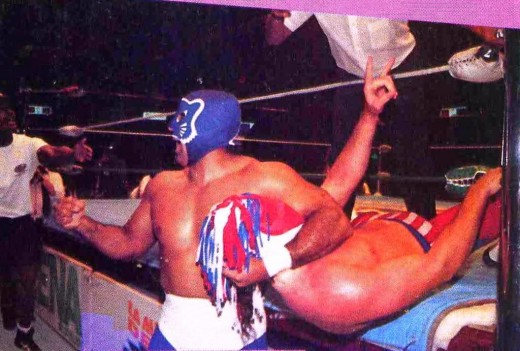 Blue Panther dominates the Love Machine