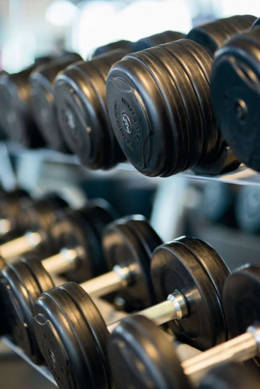 Lifting weights can boost the metabolism.