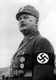 Ernst Roehm Leader of the Nazi Party's paramilitary SA (Stormtroopers)