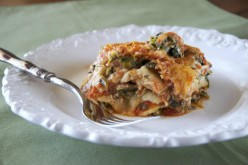 Low Carb Zucchini Turkey Lasagna in Slow Cooker