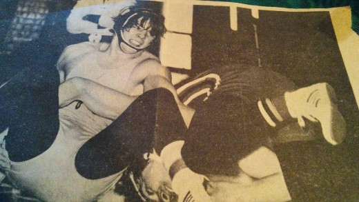High School Wrestler