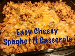 Easy Cheesy Spaghetti Casserole Recipe