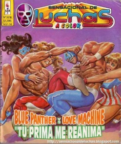 201 Non WWE Matches to See Before You Die #18: Blue Panther vs. Love Machine II