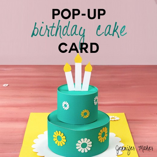35 diy ideas for making pop up cards feltmagnet for Pop up birthday cards for mom