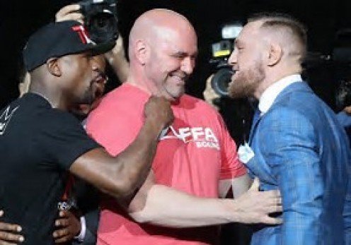 The build up to the fight has been outrageous and raunchy in my eyes.