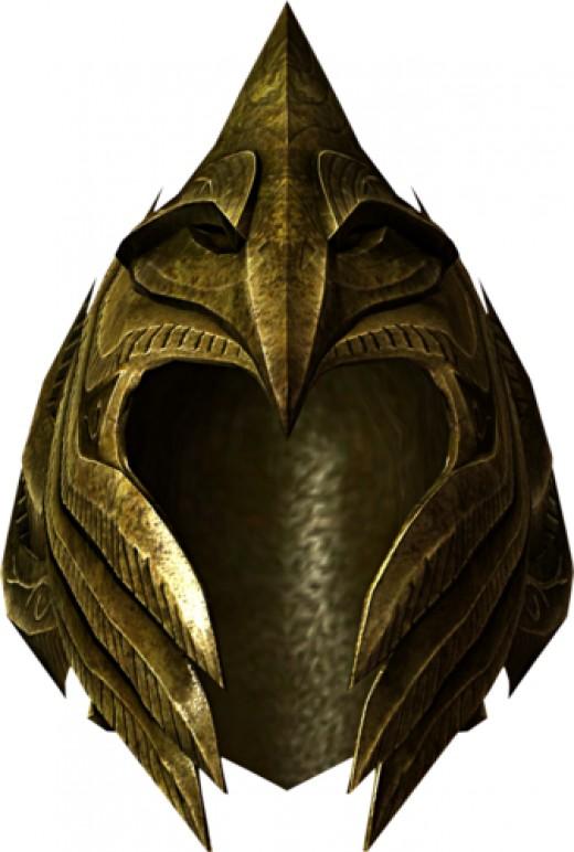 An Elven Light Armor Helmet.